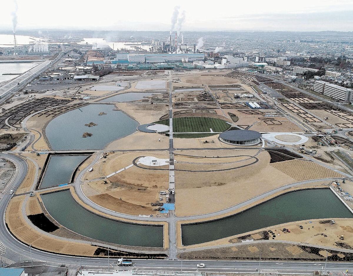 石巻・復興祈念公園 来年3月28日開園 国など方針