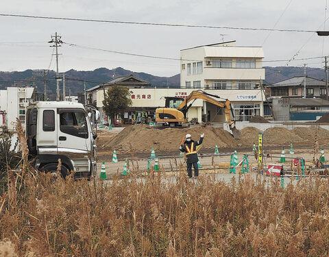 JR常磐線旧山下駅の周辺
