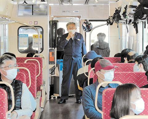乗客に震災体験語り継ぐ 三鉄が「リレー列車」運行   河北新報 ...