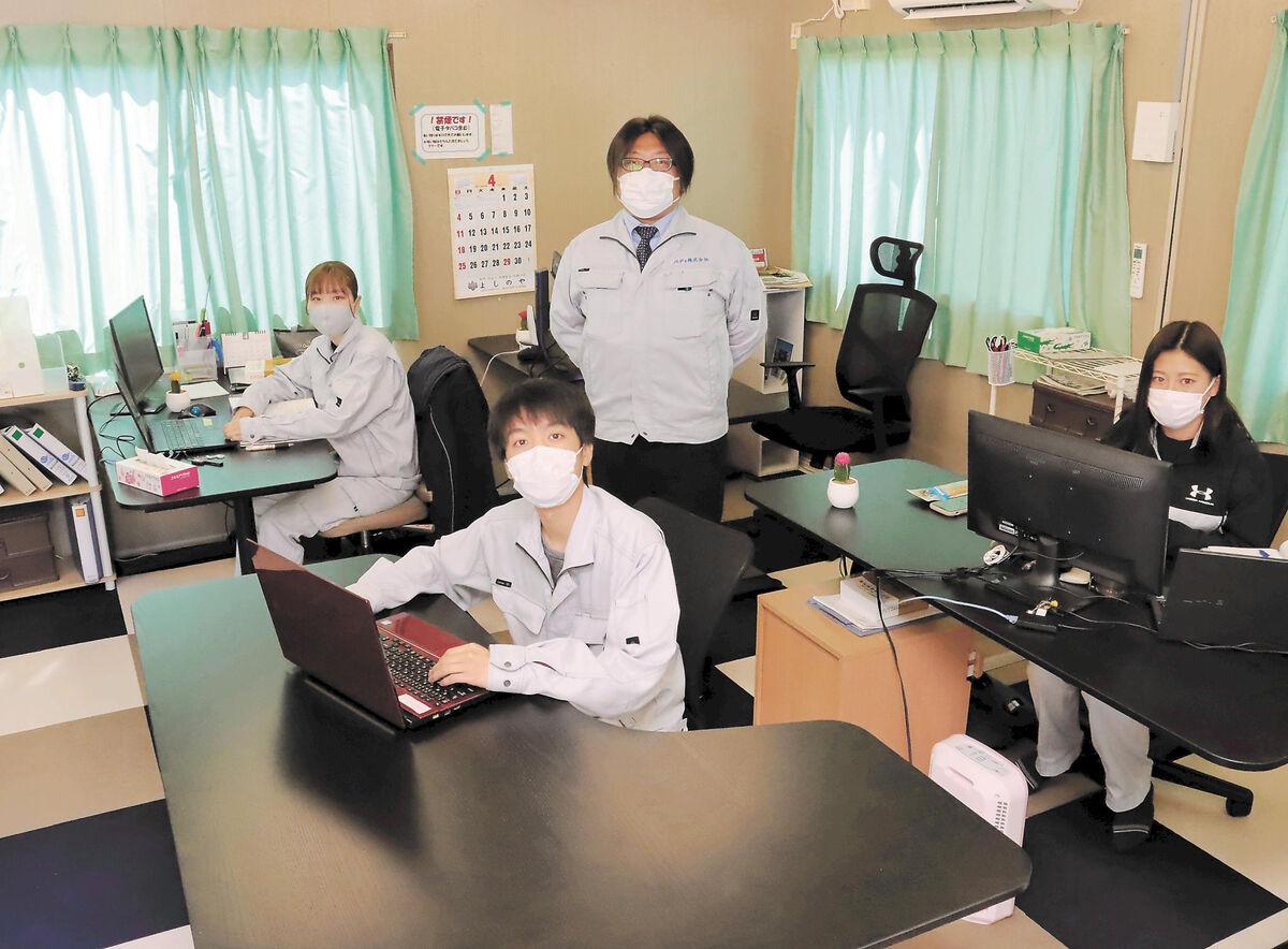 しょくば拝見>測量・施工管理業 バディ(石巻市須江) | 河北新報オンラインニュース